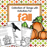 Fall Collection of Action Songs and Rhymes with Activities