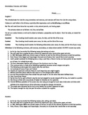 Colons Worksheet including Commas and Semicolon Review