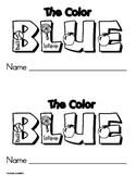 Color BLUE Emergent Leveled Reader ** Perfect for Read to Self!