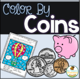 Color By Coins Hidden Pictures Pack