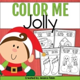 Christmas Coloring Sheets- Color Me Jolly
