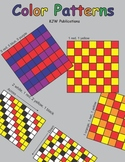 Color Patterns - For Math Centers - Seat Work - 40 activit