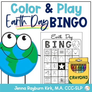Color & Play: Earth Day BINGO