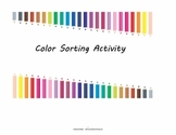 Color Sorting Activity