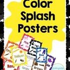 Color Splash Posters