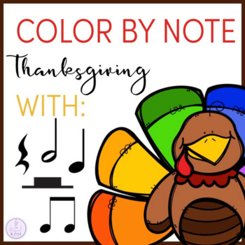 Color by Note Thanksgiving
