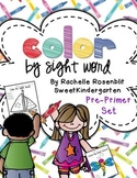 Color by Sight Word {Pre-Primer Edition}