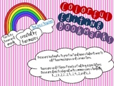 Colorful Editing Bookmark for Writing - Common Core Aligned