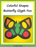 Colorful Shapes Butterfly Glyph Fun
