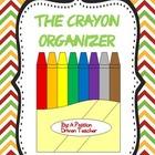 Colorful Writing Organizer