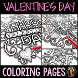 Valentine's Day Coloring Pages for Adults, Teens