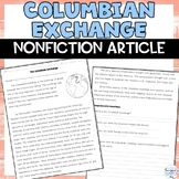 Columbian Exchange: Old World & New World