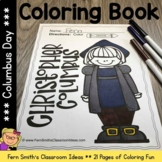 Color For Fun - Columbus Day - Coloring Pages - Printables