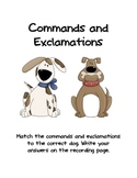 Commands and Exclamations Games
