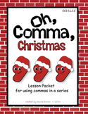 Commas in a Series Activities - Christmas