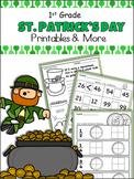 St. Patrick's Day Unit - 1st Grade - CCSS Aligned