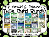 Common Core 3rd Grade- Expanding Math Task Card Bundle-44