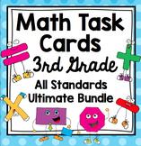 3rd Grade Math Task Cards Common Core Mega Bundle