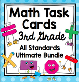 3rd Grade Math Task Cards Common Core Mega Bundle