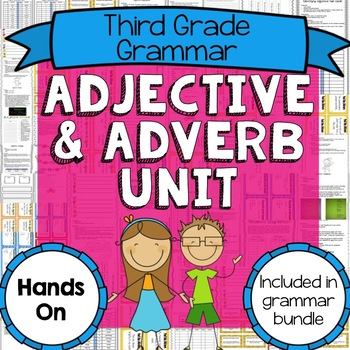 Common Core Adjective and Adverb Unit