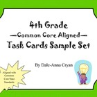 Common Core Aligned Math Task Cards Sample Set