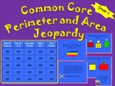 Common Core Area and Perimeter tV Trivia 3rd Grade Fun!