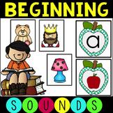 Common Core Beginning Sounds, Phonemic Segmentation and CV