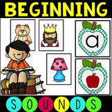 Common Core Beginning Sounds Activity Pack with Games