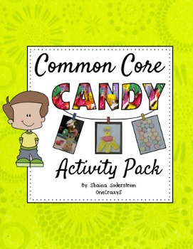 Literacy, Math, STEM, and Social Studies Candy Activity Pack