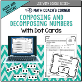 Common Core: Composing and Decomposing Numbers with Dot Cards