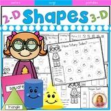 Kindergarten Common Core Shape Super Activity pack 112 Pages