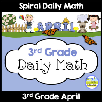 Daily Math for 3rd Grade - April Edition