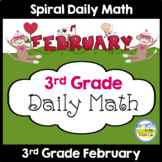 Daily Math for 3rd Grade - February Edition