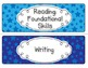 Common Core ELA Standards Posters Grade 5 (Red, White, and