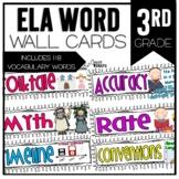 Common Core ELA Vocabulary Cards for 3rd Grade