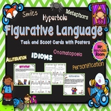 Figurative Language Task/Scoot Cards with Posters