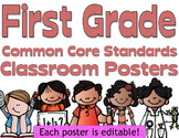 Common Core First Grade Posters (I can...) Melonheadz Edition