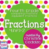 Equivalent Fractions - Comparing Fractions