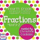 Common Core Fractions Lesson Plan Unit: 4th Grade Module B