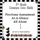 Common Core Fractions Assessment Activity for Third Grade