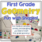 First Grade Geometry: Fun With Shapes!