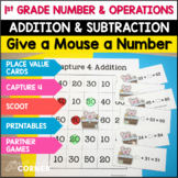 Common Core: Give a Mouse a Number, Number and Operations