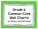 Common Core Grade 6 Wall Charts