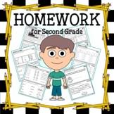 Common Core Homework for Second Grade
