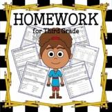 Common Core Homework for Third Grade