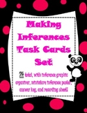 Common Core Inference Task Card Set with graphic organizer