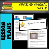 Common Core Language Arts Unit 2 Amazing Animal World BUNDLE