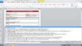 Common Core Lesson Plan ELA Grade 5 w/Standards in Drop Do