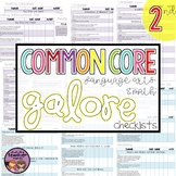 Common Core MATH and ELA Galore {2nd Grade Checklist}