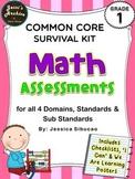 Common Core Math Assessments
